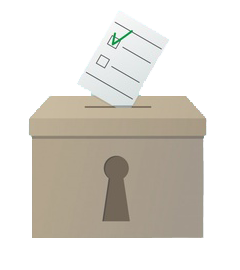 ballot box vector transparent