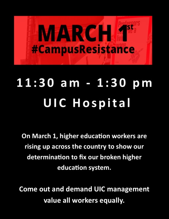 UIC March 1
